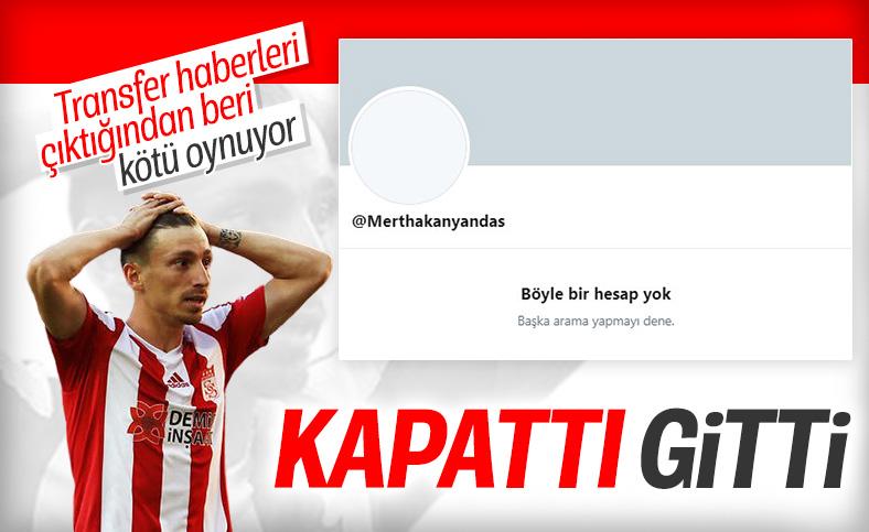 Mert Hakan Yandaş, sosyal medya hesabını kapattı