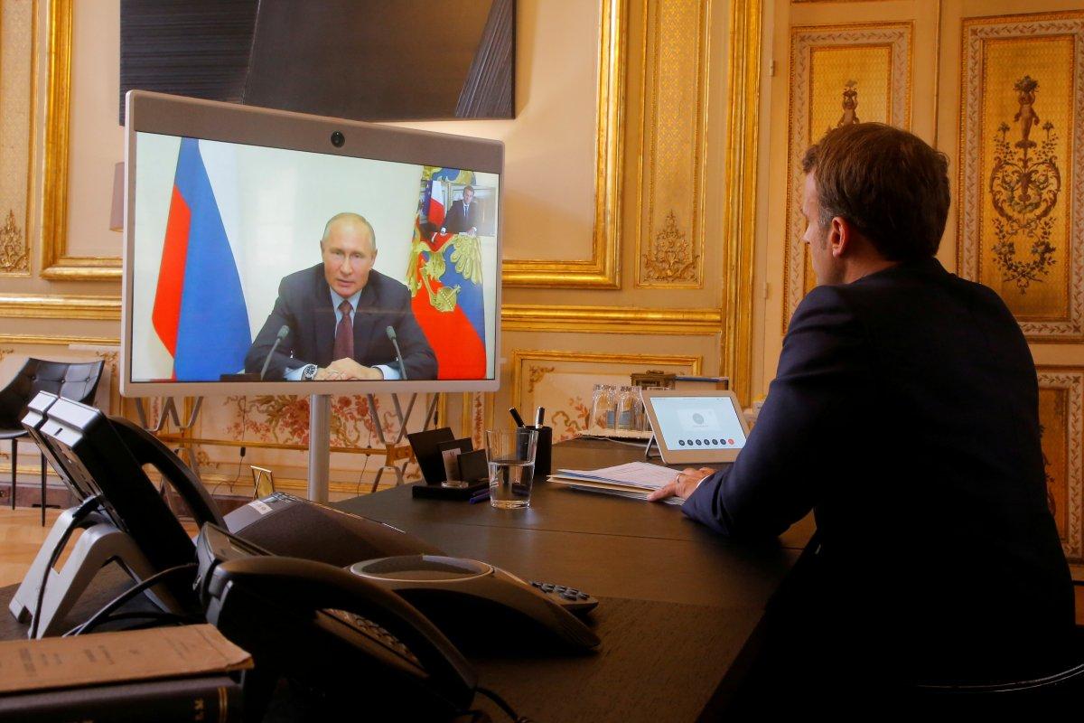 Putin ve Macron, Libya'da ateşkes istedi #2