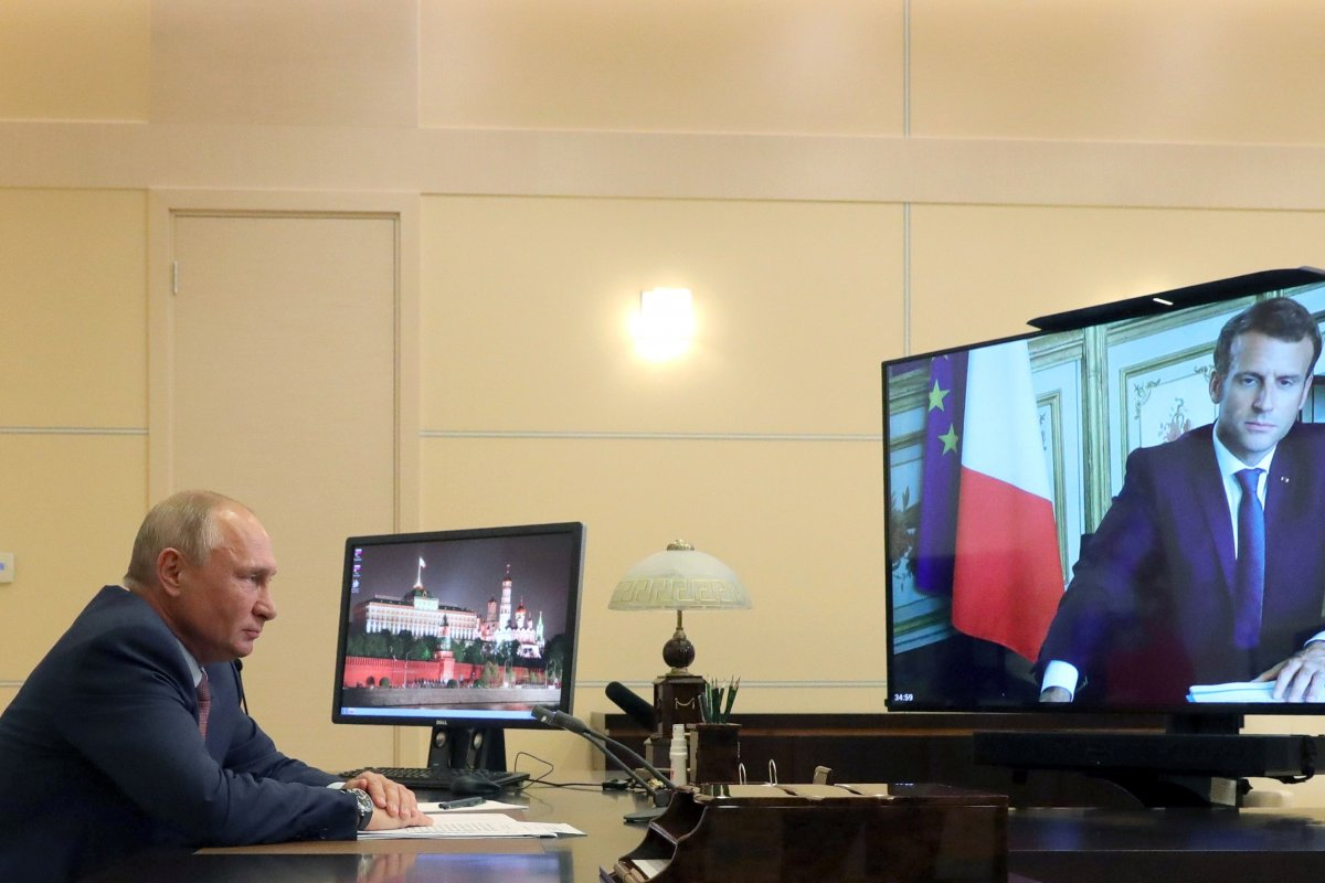 Putin ve Macron, Libya'da ateşkes istedi #3