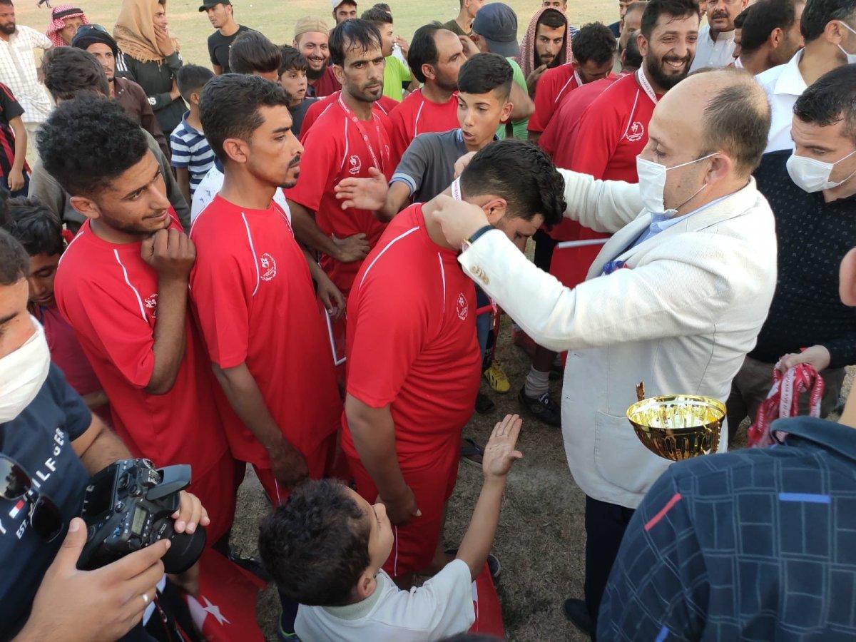 Suriye'de Barış Pınarı Futbol Turnuvası devam ediyor #4