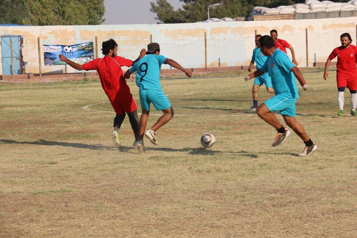 Suriye'de Barış Pınarı Futbol Turnuvası devam ediyor #2