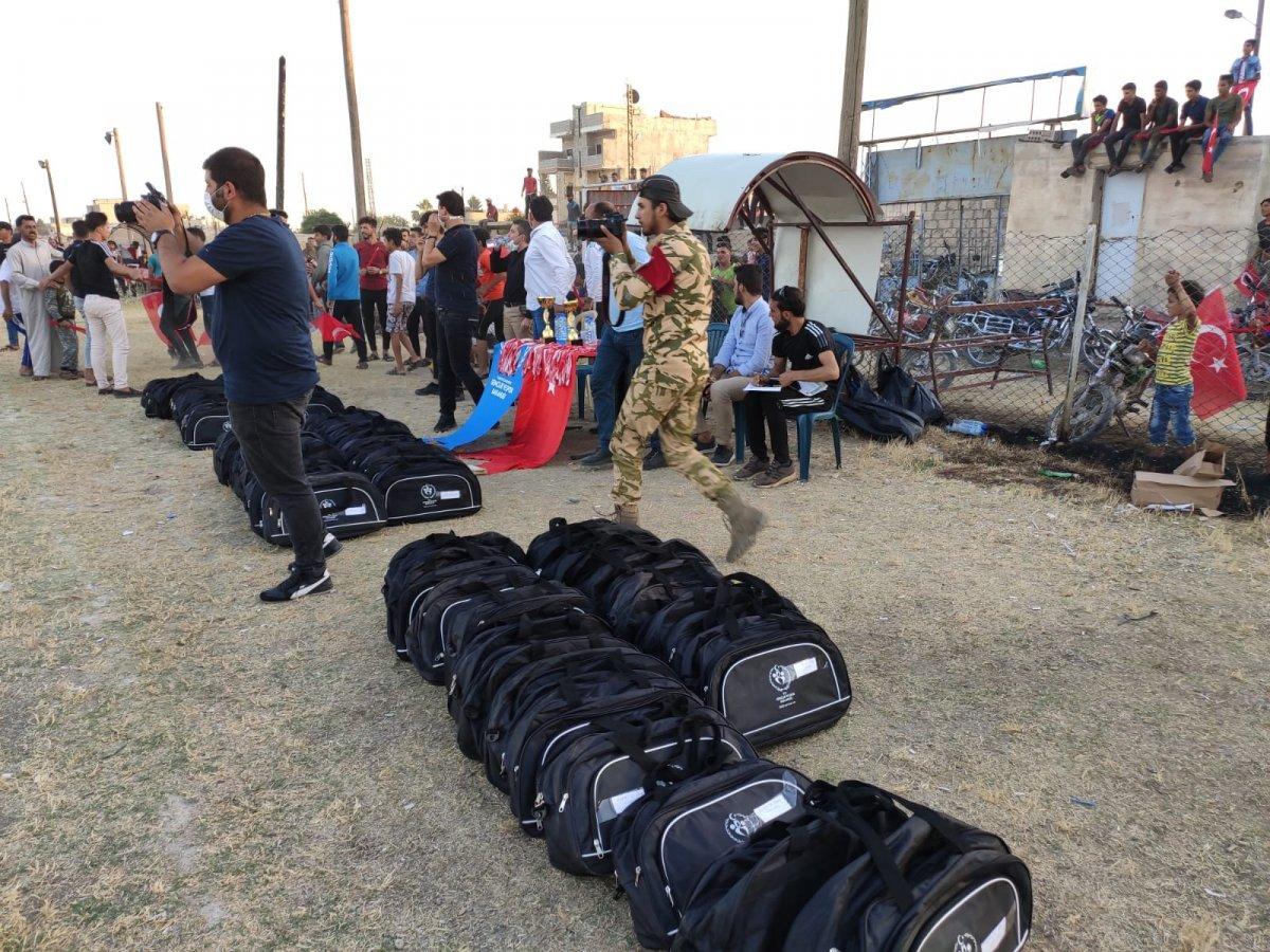 Suriye'de Barış Pınarı Futbol Turnuvası devam ediyor #5