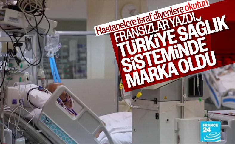 Fransız basınının gündemi Türkiye'nin sağlıktaki başarısı