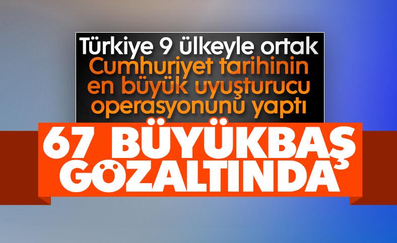 Bakan Soylu: 9 ülke ile Bataklık Operasyonu düzenledik
