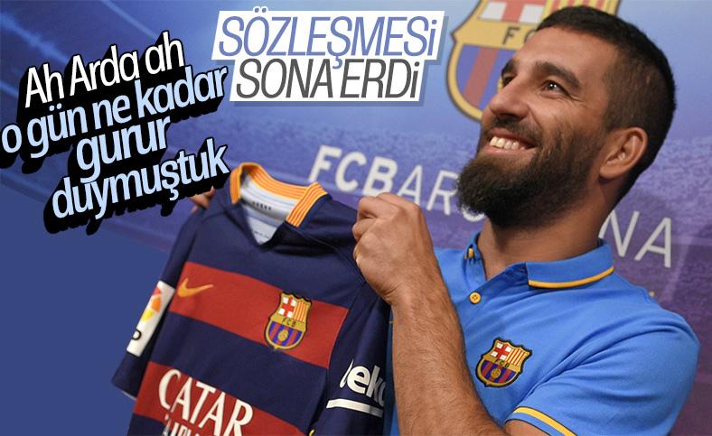 Arda'nın Barcelona ile sözleşmesi sona erdi