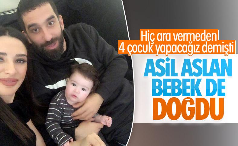 Arda Turan ikinci kez baba oldu