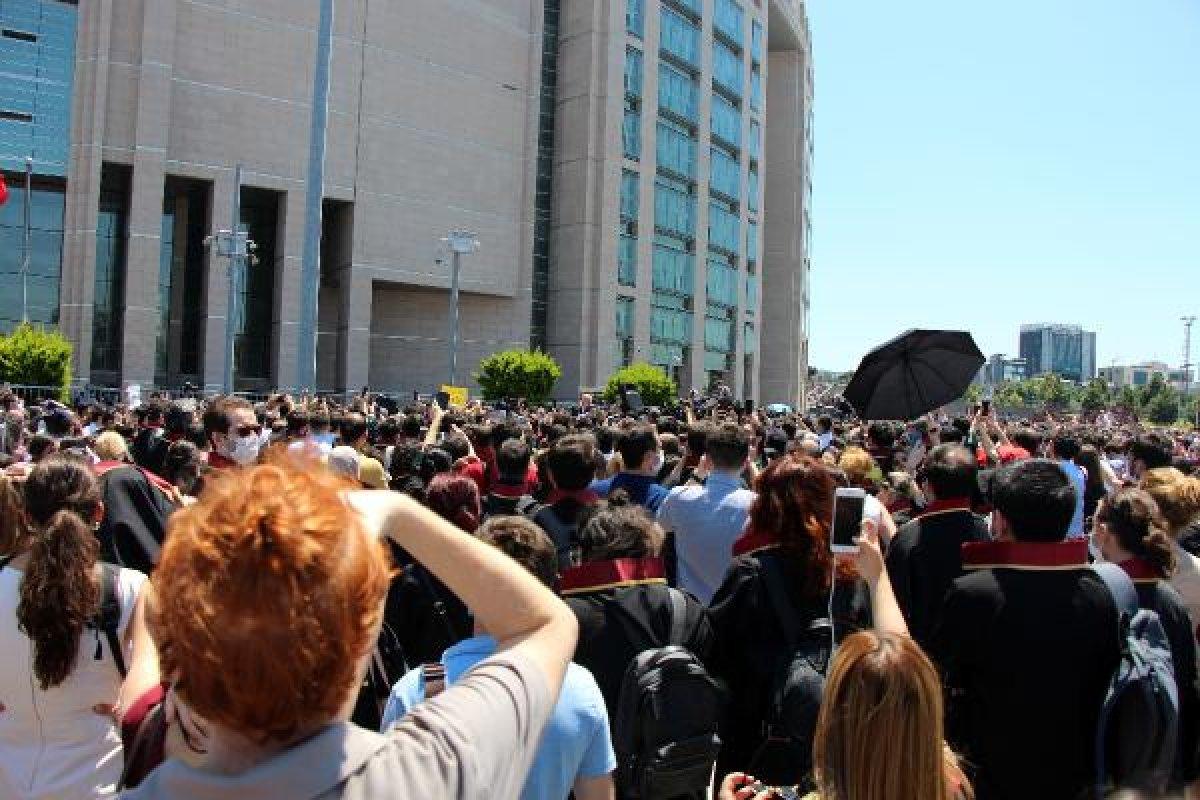 İstanbul Adalet Sarayı önünde avukatların eylemi #6