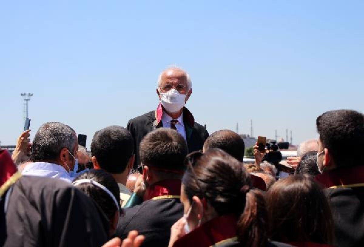 İstanbul Adalet Sarayı önünde avukatların eylemi #7