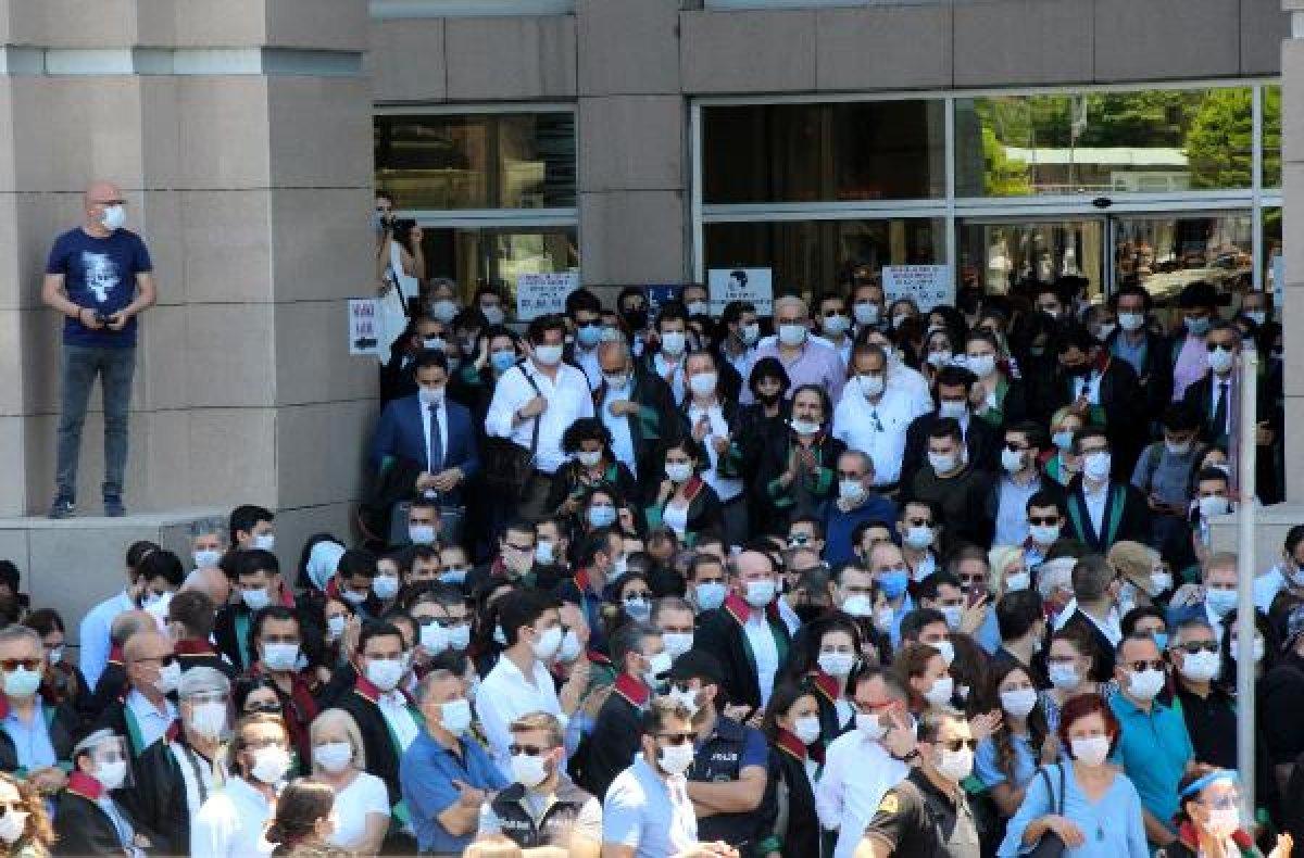 İstanbul Adalet Sarayı önünde avukatların eylemi #8