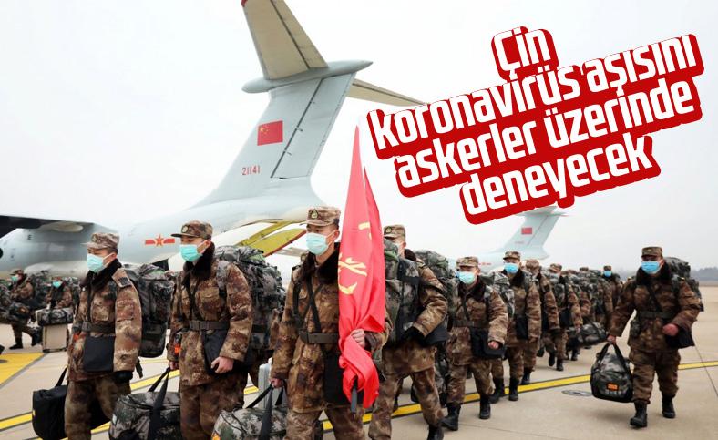 Çin ordusu, koronavirüs aşısını kullanacak