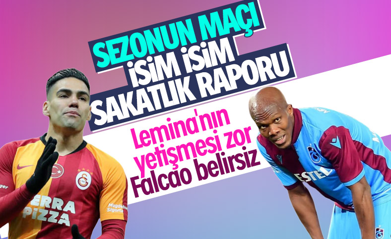 Galatasaray-Trabzonspor maçına doğru