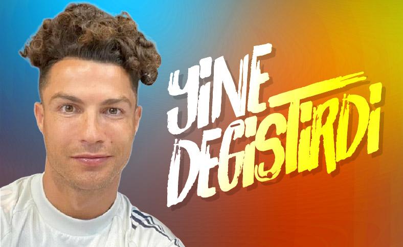Ronaldo'nun yeni saç stili