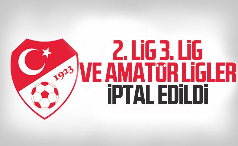 TFF'den 2. Lig ve 3. Lig için yeni karar