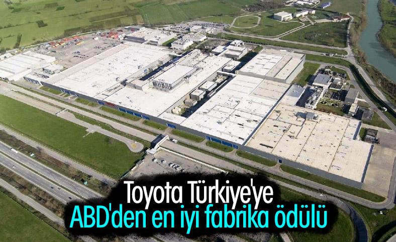 ABD'den Toyota Türkiye'ye ödül