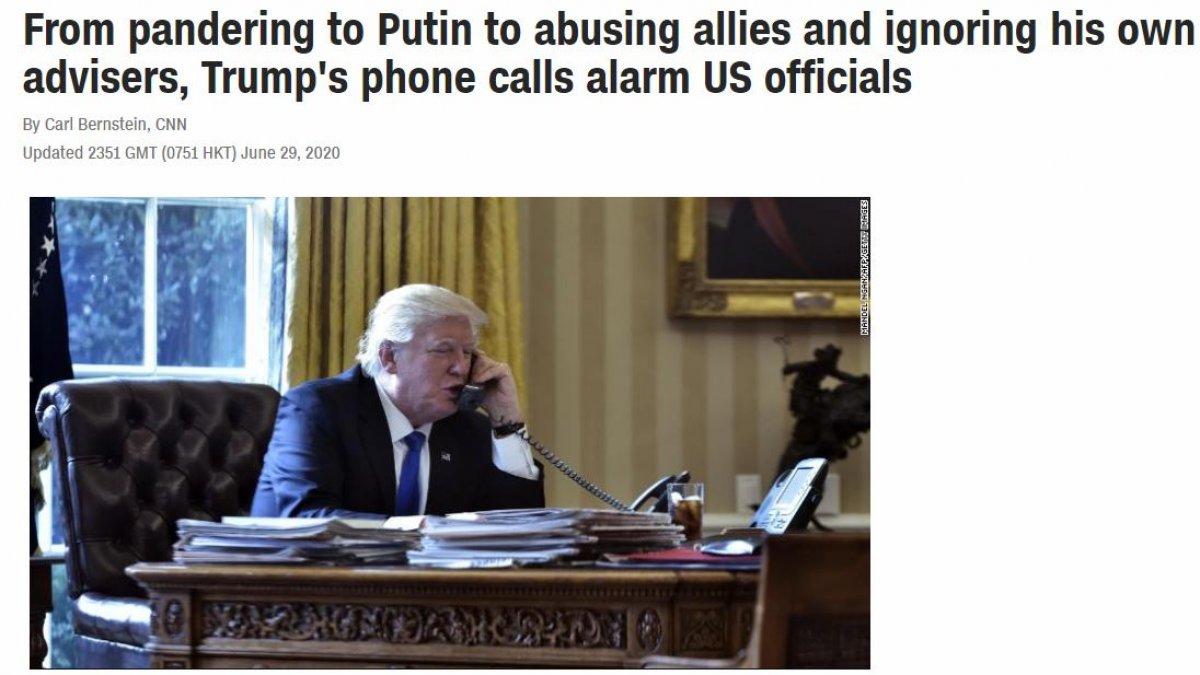 Donald Tramp Putin və Ərdoğanın qarşısında susub