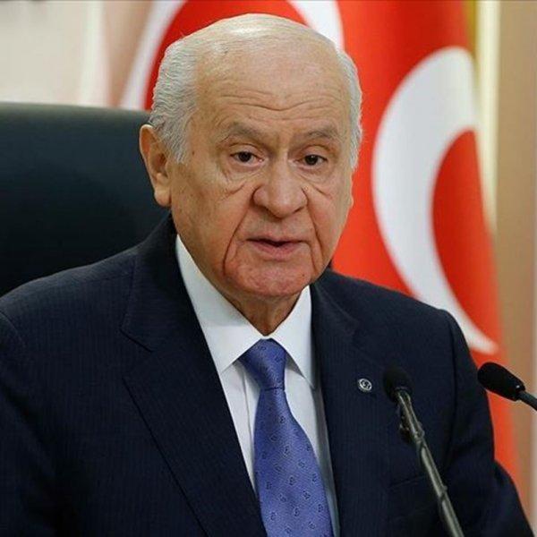 Devlet Bahçeli son kez 'tweet' attı #1