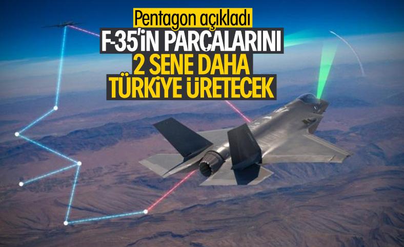 ABD F-35 parçaları için Türk şirketlerle yola devam dedi