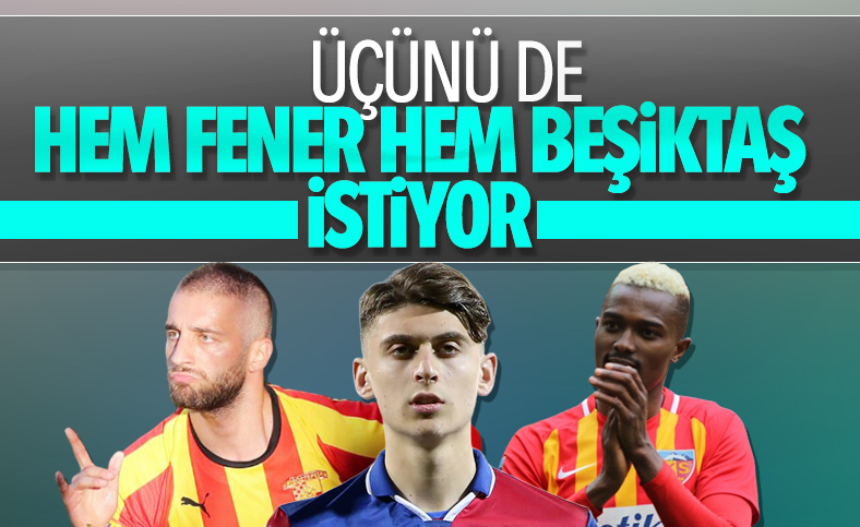 Fenerbahçe ile Beşiktaş transferde karşı karşıya