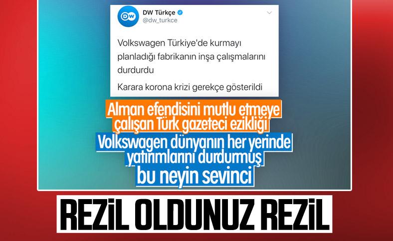 DW Türkçe Volkswagen haberini düzeltti