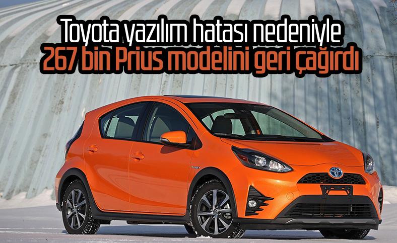 Toyota 267 bin Prius modelini geri çağırıyor