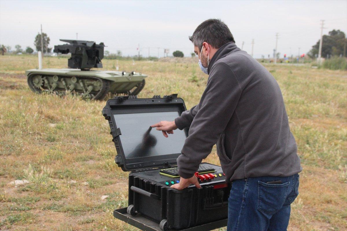 İnsansız mini tank, 2021'de TSK envanterine girecek #5