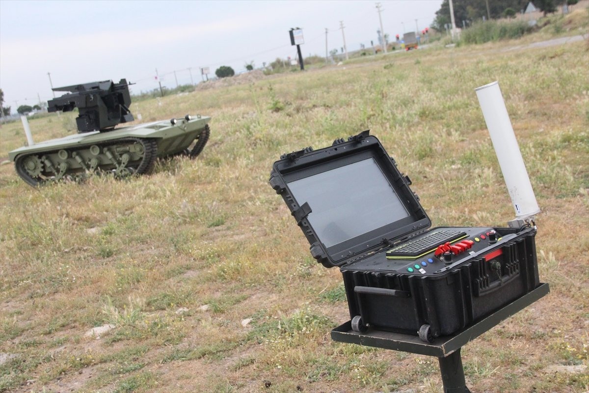 İnsansız mini tank, 2021'de TSK envanterine girecek #3