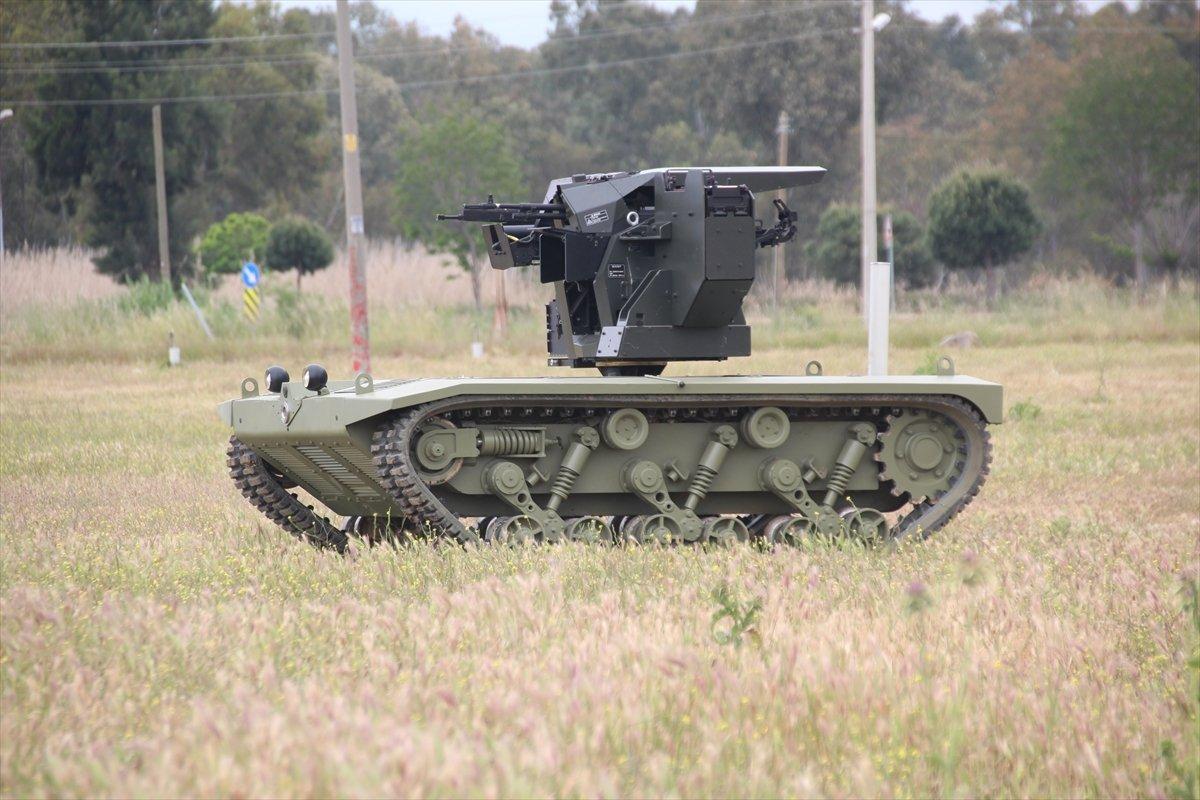 İnsansız mini tank, 2021'de TSK envanterine girecek #4