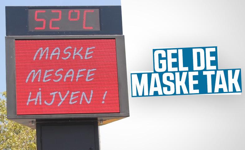 Aydın'da sıcaklık 52 dereceye kadar çıktı