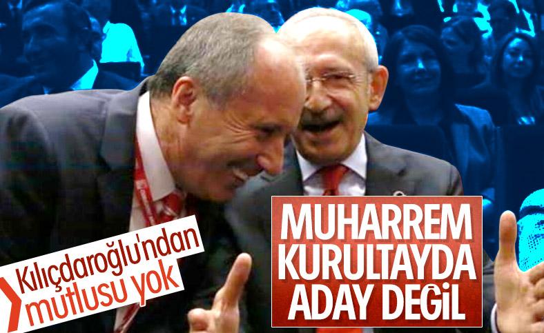 Muharrem İnce CHP Kurultayı'nda aday olmayacak