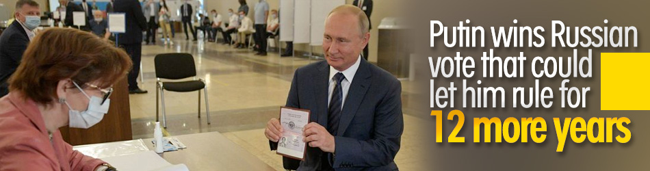 Russian voters approve of constitutional changes