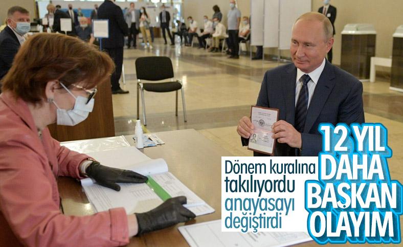 Rusya'da anayasa referandumundan evet çıktı