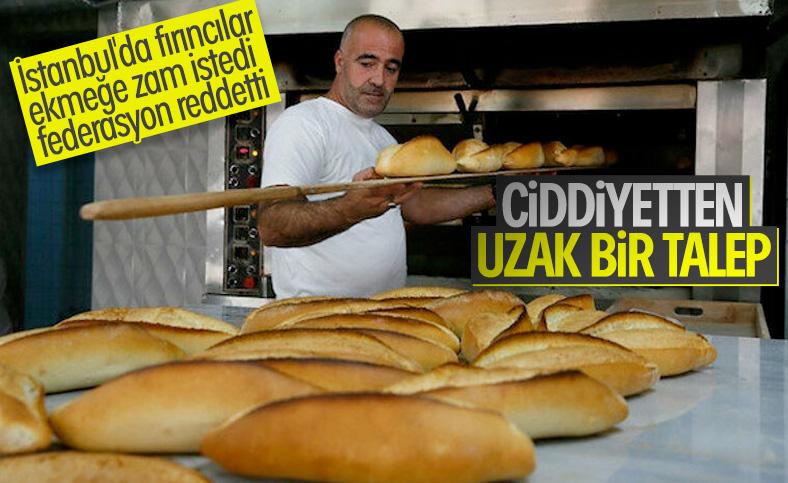 İstanbul'da ekmeğe zam yok