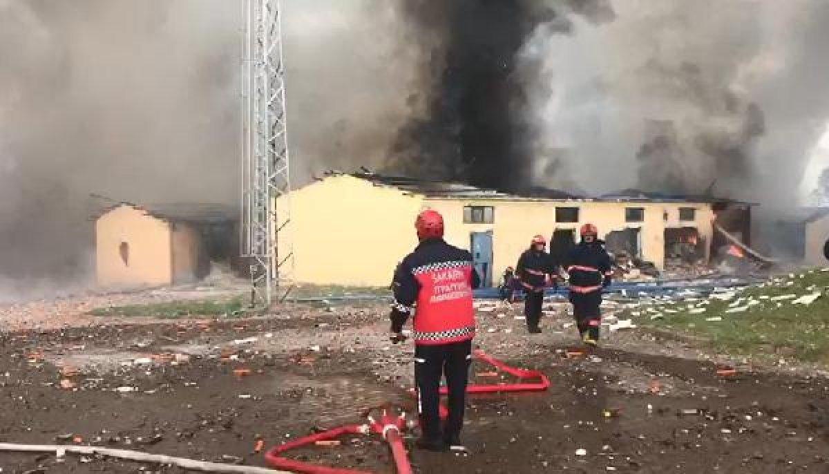 Sakarya'daki patlamadaki bilanço ağırlaşıyor #2