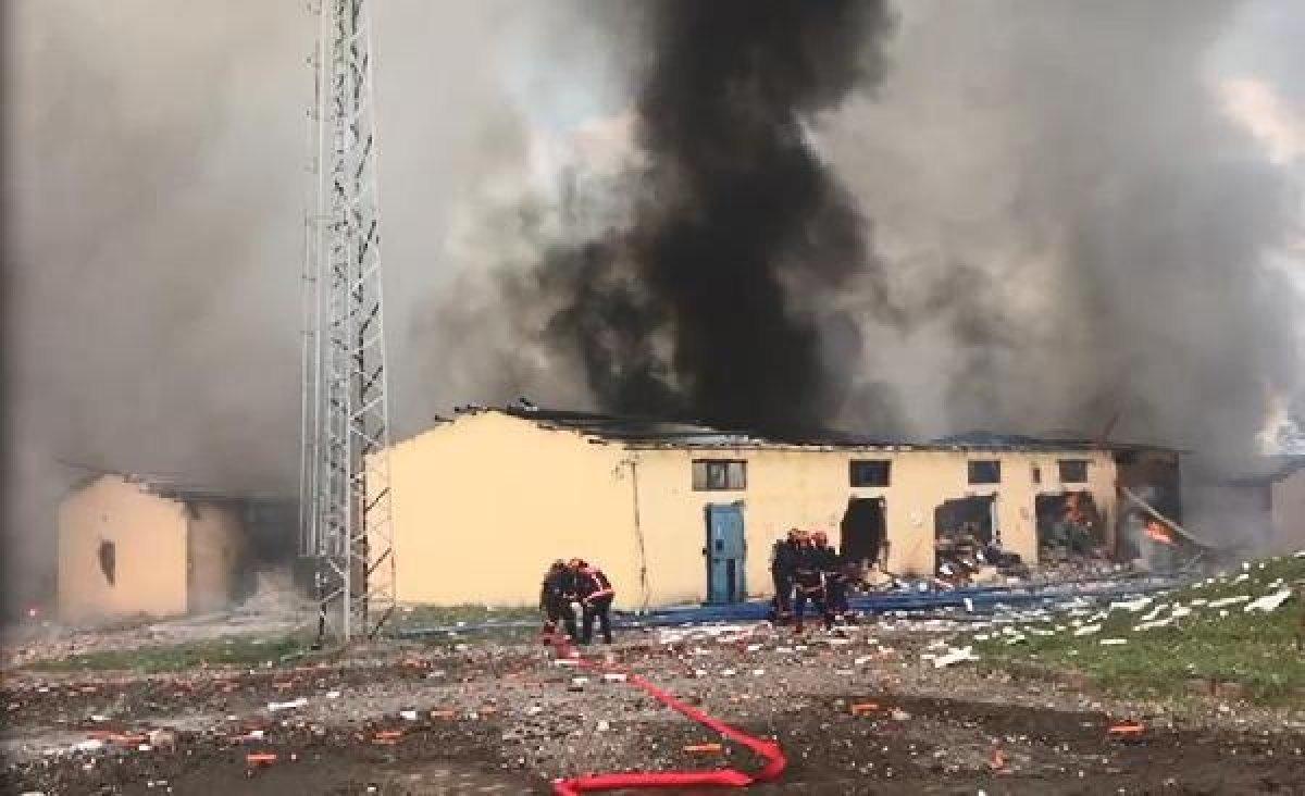 Sakarya'daki patlamadaki bilanço ağırlaşıyor #3