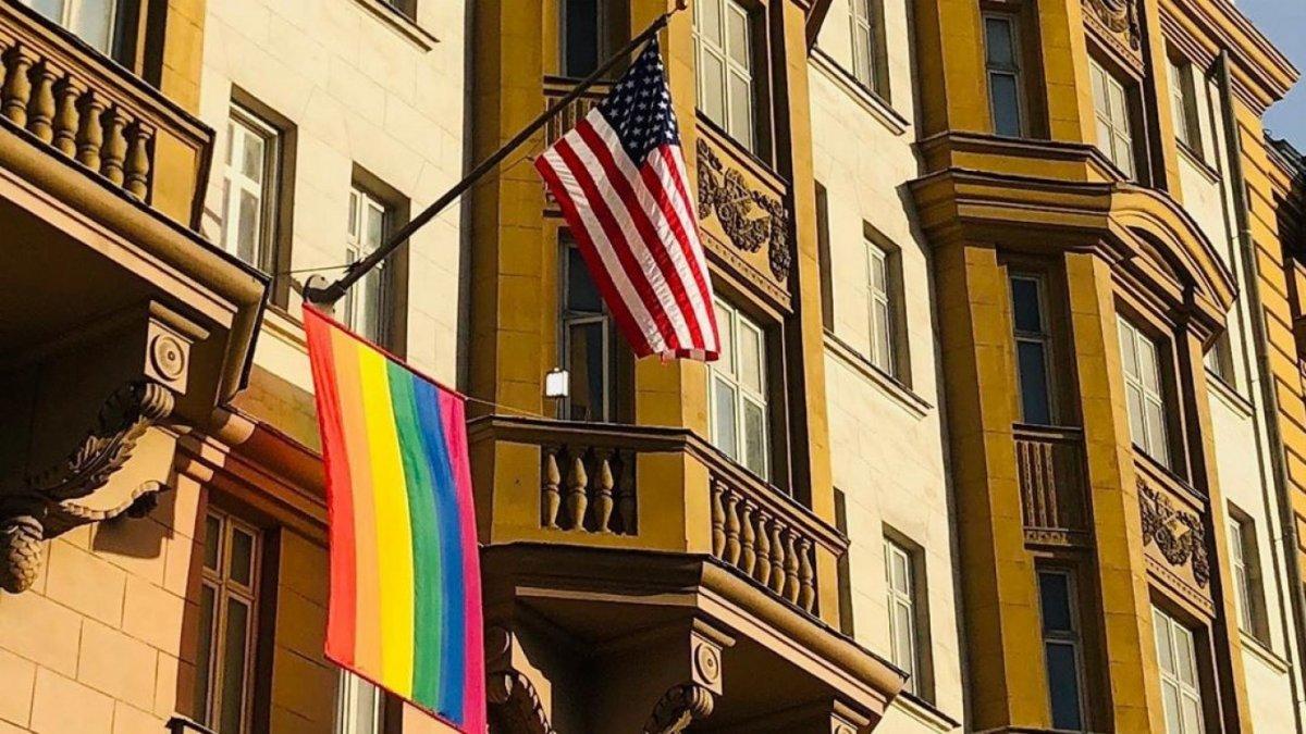 Putin'den ABD Büyükelçiliğine LGBT göndermesi #4