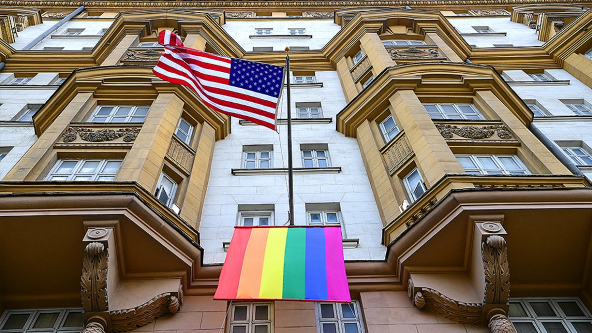 Putin'den ABD Büyükelçiliğine LGBT göndermesi #2