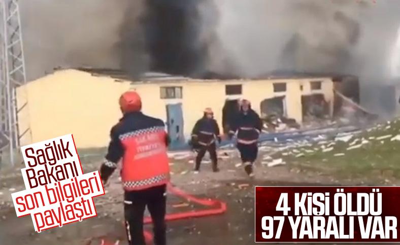 Sakarya'daki patlamadaki bilanço ağırlaşıyor