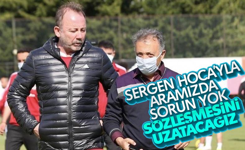 Ahmet Nur Çebi: Yeni sözleşme Sergen Hoca'ya yakışır