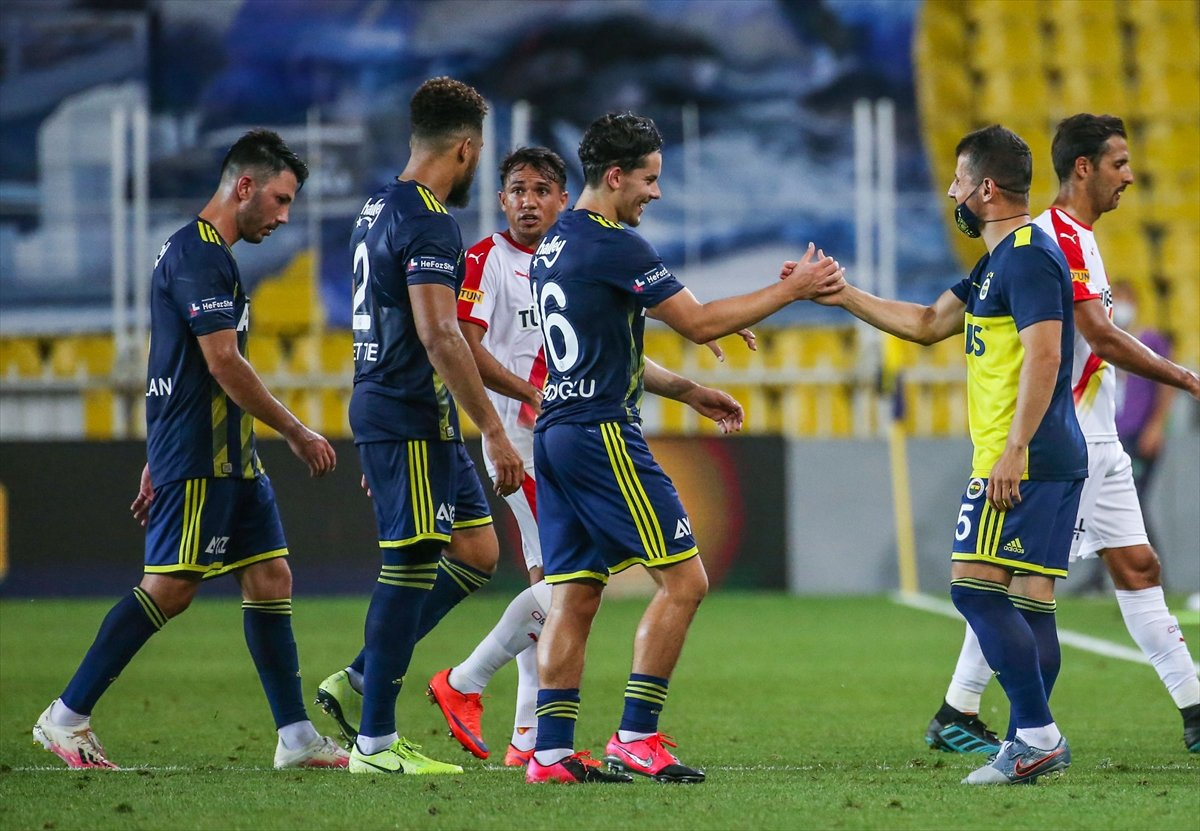 Fenerbahçe evinde 3 puanı aldı #2