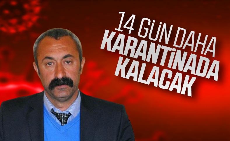 Mehmet Maçoğlu'na 14 gün daha karantina