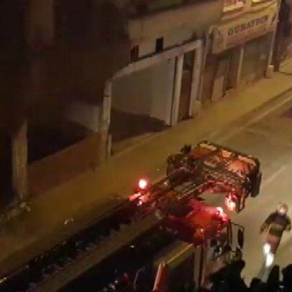 Samsun'da boş binada 1 ayda ikinci yangın #1