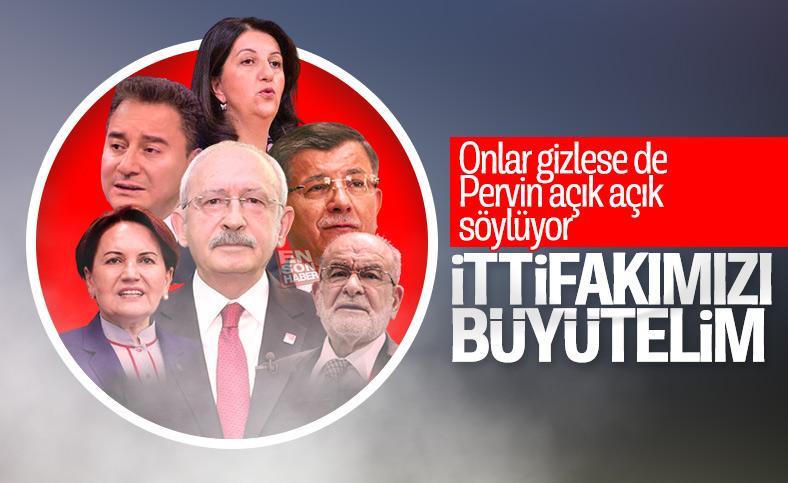 Pervin Buldan'dan 23 Haziran ittifakı itirafı