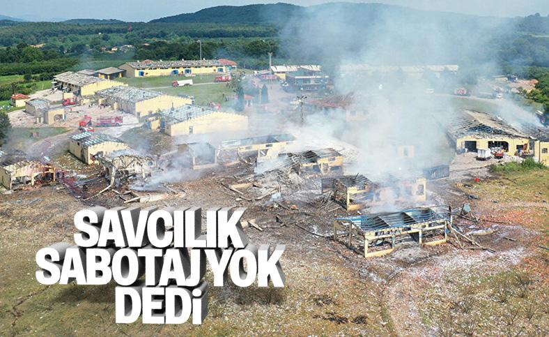 Hendek'teki patlamada sabotaj izine rastlanmadı