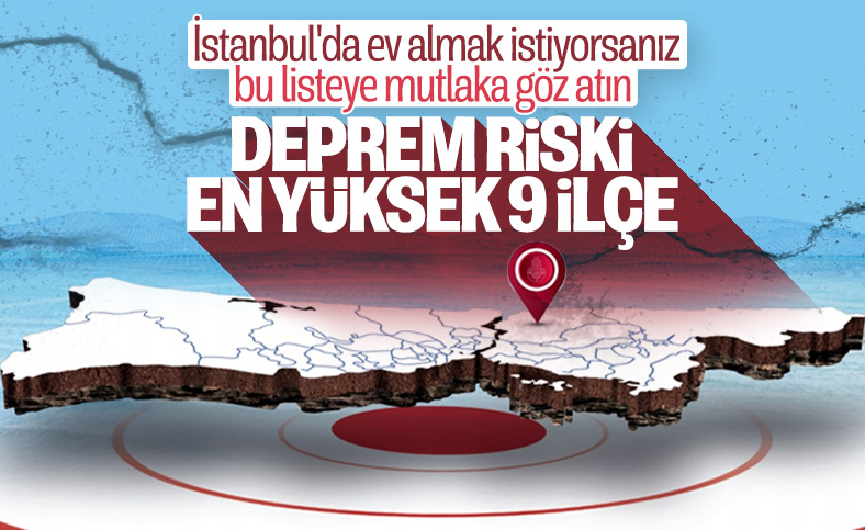 İstanbul'da depremden en fazla zarar görecek ilçeler