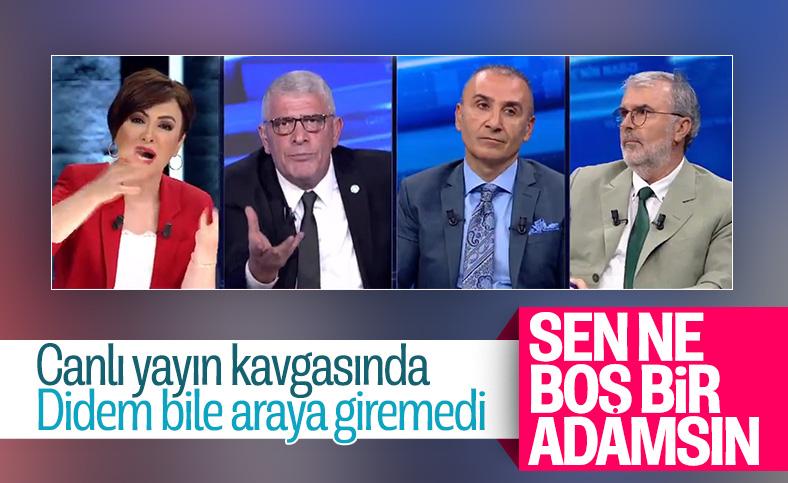 Dervişoğlu ile Tosun arasında canlı yayında sözlü kavga