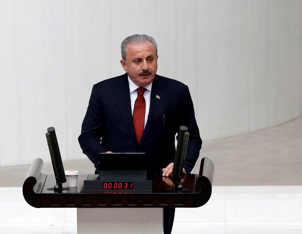 Mustafa Şentop yeniden Meclis Başkanı oldu #1