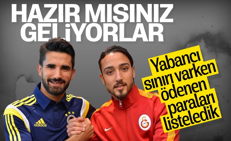 Türk futbolculara ödenen yüksek bonservis ücretleri
