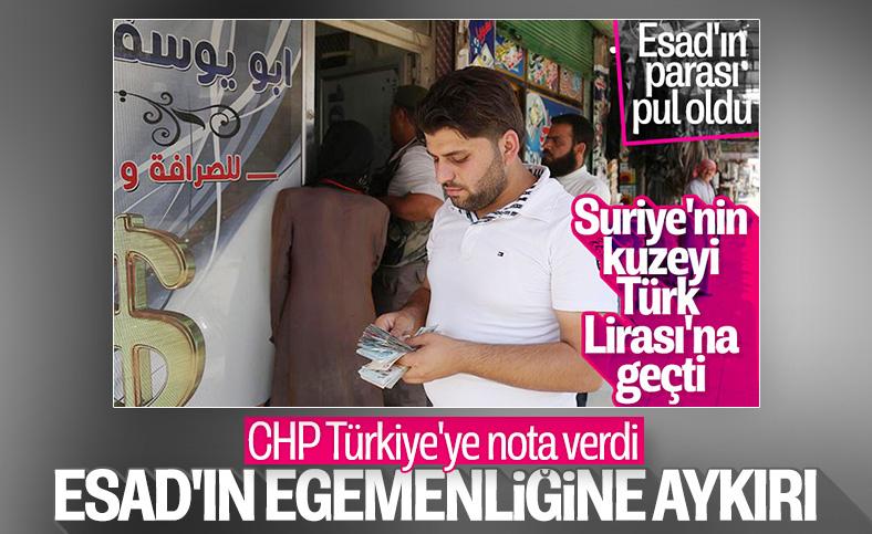 CHP'den Türkiye'nin Suriye'deki kontrolüne eleştiri