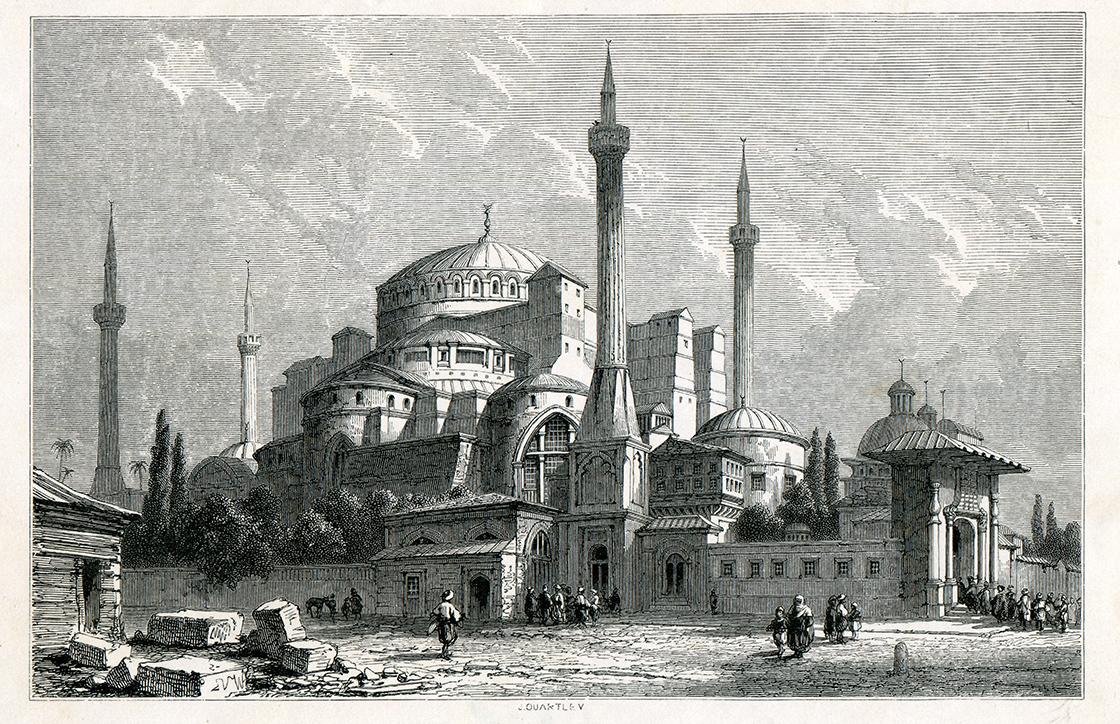 Fatih Sultan Mehmet'in emaneti Ayasofya'ya sahip çıkıldı #4