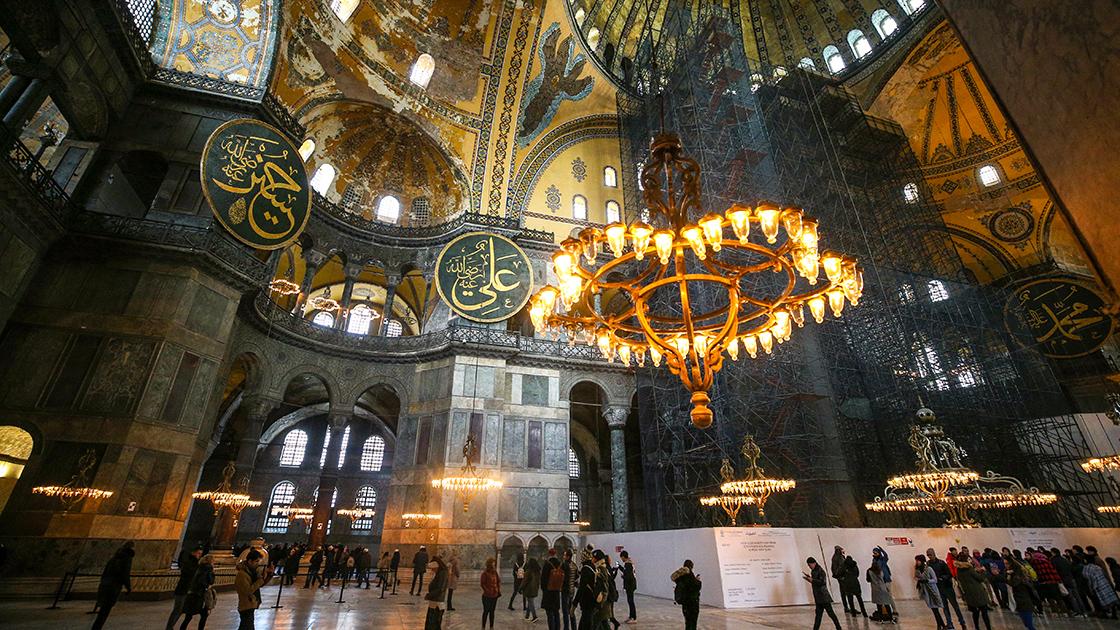 Fatih Sultan Mehmet'in emaneti Ayasofya'ya sahip çıkıldı #3